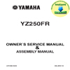 Thumbnail Yamaha_YZF_250FR_2003_Service Repair  & Assemly_Manual