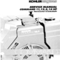 Thumbnail KOHLER Command 11 12.5 14 HP Service Repair Manual Horizontal CrankShaft
