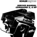 Thumbnail KOHLER Command 5 6 hp 5hp 6hp Service Repair Manual Command6 Command5