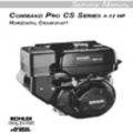 Thumbnail KOHLER COMMAND PRO CS SERIES 4-12 HP Service Repair Manual  HORIZONTAL CRANKSHAFT