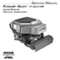 Thumbnail KOHLER AEGIS 17 20 23 hp Service Repair Manual LIQUID-COOLED VERTICAL CRANKSHAFT