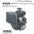 Thumbnail KOHLER AEGIS LH630 LH685 LH750 LH760 Service Repair Manual LIQUID-COOLED HORIZONTAL CRANKSHAFT