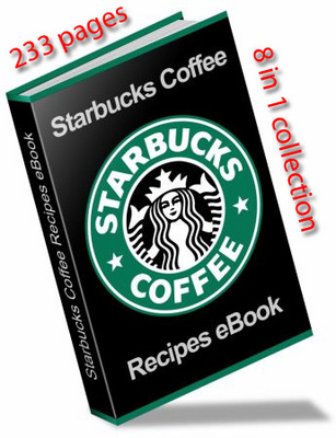 Product picture STARBUCKS ULTIMATE RECIPE EBOOK and RESELL RIGHTS 8 in 1 col