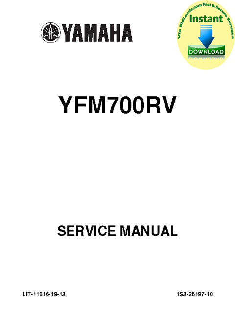 Product picture Yamaha_YFM_700RV_Raptor_Service_Repair _Manual