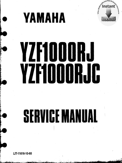 Product picture Yamaha_YZF1000RJ(RJC)_Service_Repair_Manual