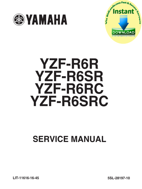 Product picture Yamaha_YZF-R6(R,SR,RC,SRC)_2003_Service_Repair_Maintenance Manual